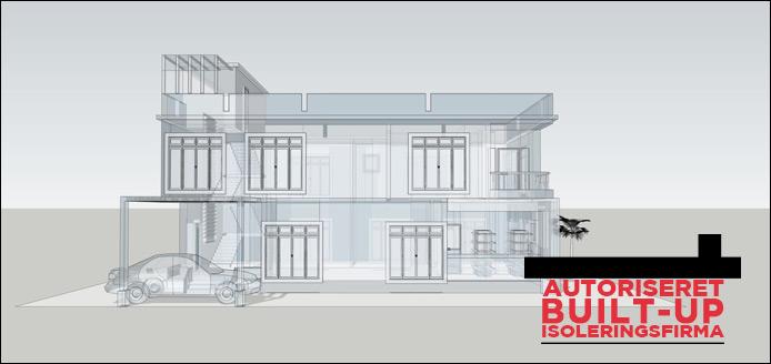 Danisol er det rigtige valg når det gælder Built-up tagisolering af alle typer af ejendomme